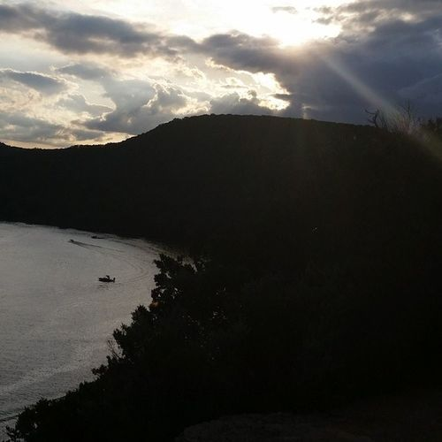 Sunset over the cliffs at Pennybackerbridge Worthyofthewordbreathtaking