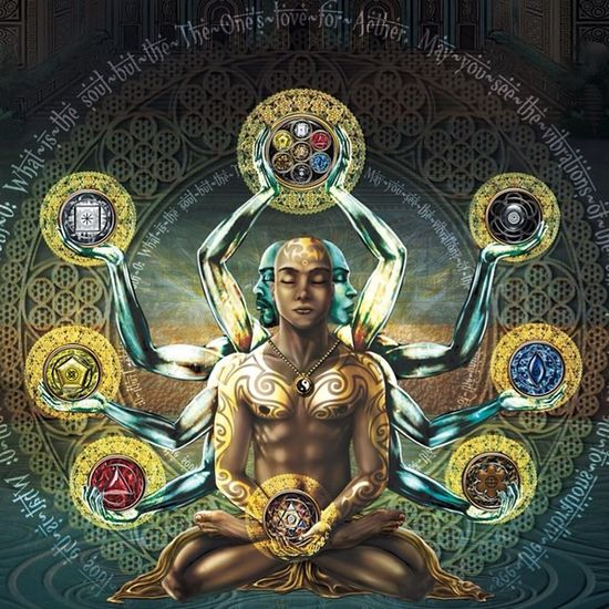 Being at one with self is being at one with Life Sacredgeometry Life Enlightened Chakra  Light Perpetuatingpositive Love