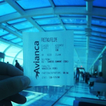 Partiu Brasília! Bsb Avianca Sdu AV6220 FLIGHT AIRLINE WORK CONVENÇÃODEVENDAS2014