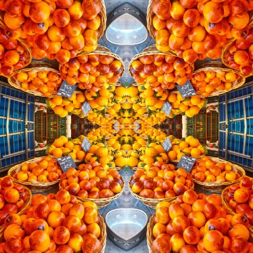 Visual Feast Fruit Orange Color Healthy Eating Food Yellow No People Day Freshness Peaches Nectarines Oranges Marketplace Market Morning Rituals Paint The Town Yellow Food Stories