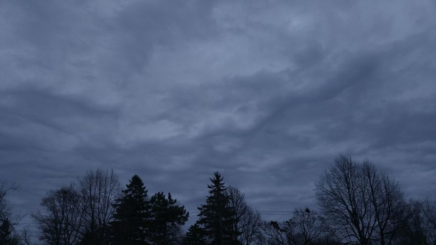 Sky Turmoil Clouds Cloudy Skies Grey