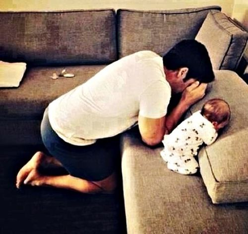 Baby ❤ Peek A Boo Beautiful ♥ Daddy And Son