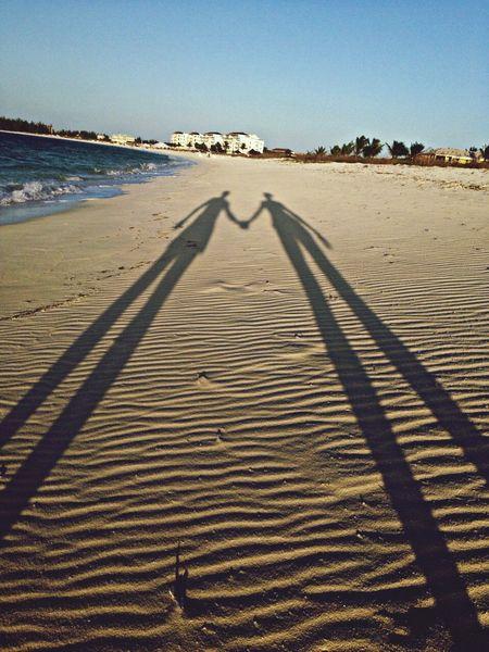 Honeymoon Light And Shadow Beach Traveling Holiday