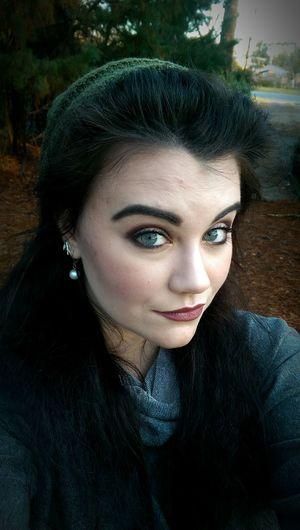 Grunge III That's Me Smokey Eye Me Myself And I Makeupaddict Mobilephotography Eyebrows On Fleek Matte Lipstick Grunge Burgundy Nyxcosmetics Nyxlipstick