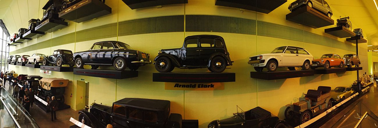 The wall of Cars Vintage Cars Exhibition Panorama Mobilephotography OpenEdit
