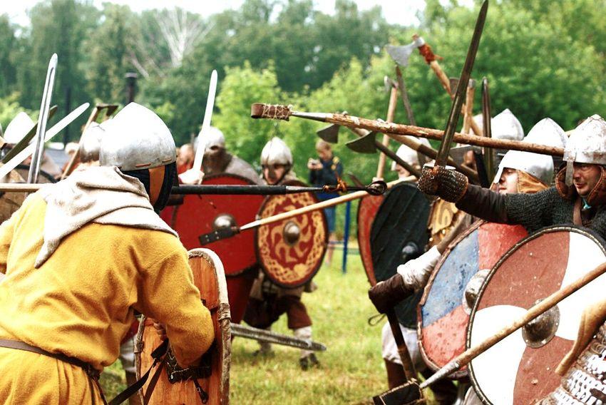 реконструкция викинги Viking Buhurt бугурт раменское