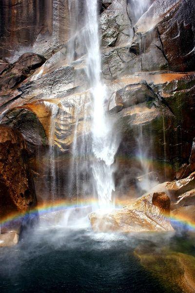 My favourite shot in yosemite Nature Landscape Yosemite National Park Waterfall