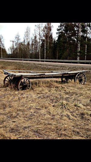 Old Wagon in Hälsingland