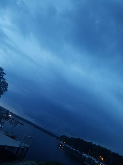 Stormy Blue Weather Calm B4 The Storm Beatiful Bluenature Nature Nice Loving Nature Weather Blue Clouded Skies No Filter, No Edit, Just Photography Lifes-good