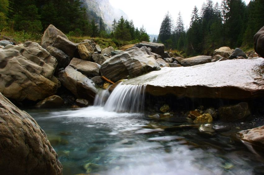 Nature Water Outdoors Nature Glarus Pass One The Road