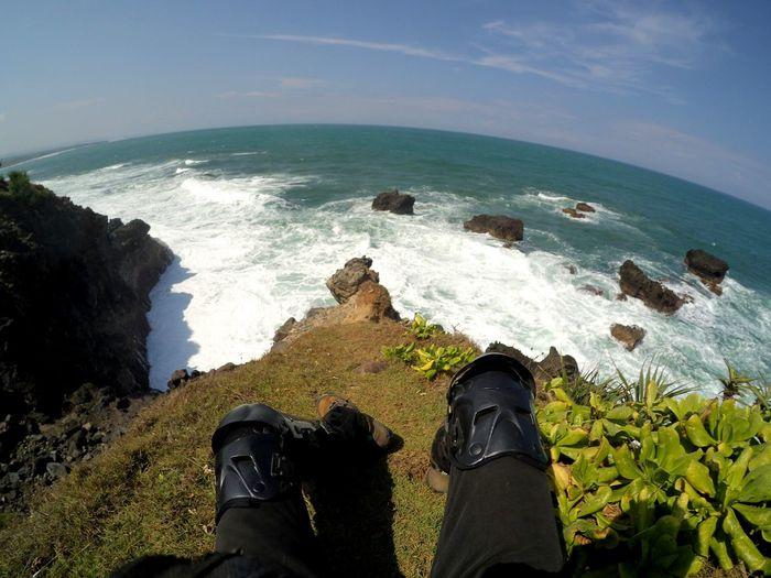Share Your Adventure rancabuaya Beach Cliffside Adventure Jarambahjourney Landscape_Collection