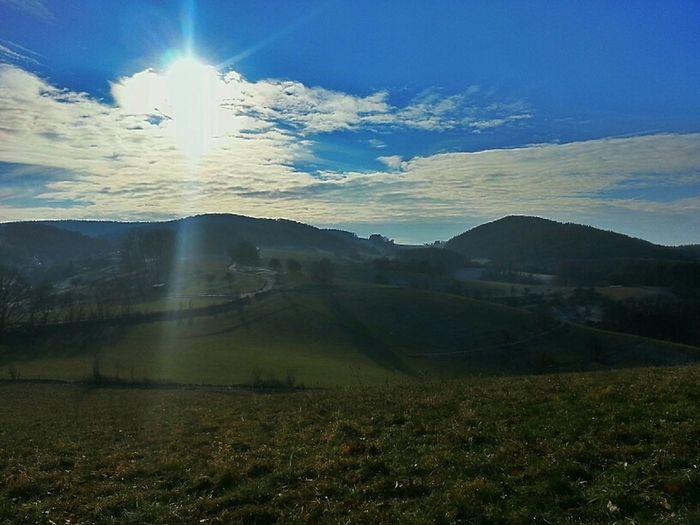Walking the shire Sun Mobile Photography Landscape