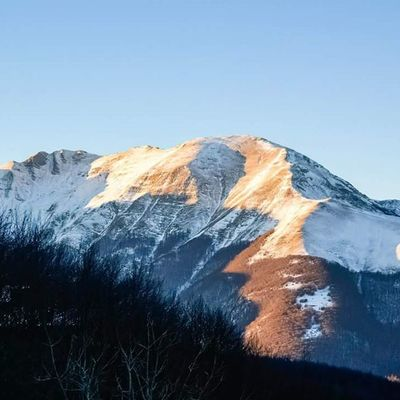 Sunset Sunsets Tramonti Tramonto montagna montagna mountains mountain cerreto cerretolaghi appennino emilia emiliaromagna neve snow evening sera