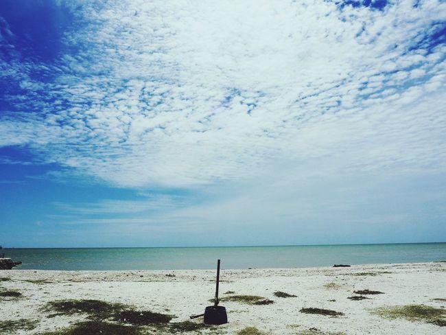 Beach Sky Sea Nature Sekinchan, Malaysia