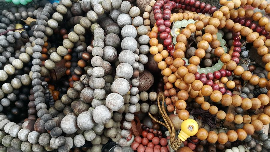 Wooden prayers beads
