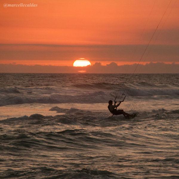 Sport In The City Barra Da Tijuca, Rio De Janeiro Rio De Janeiro Sunset Sunset_collection EyeEm Best Shots - Sunsets + Sunrise Kite Kitesurfing Adventure Club 43 Golden Moments This Is Latin America