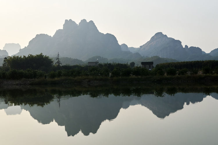 A6000 Beauty In Nature Mountain Nature Outdoors Reflection Tranquil Scene Water Zeiss32mmf18
