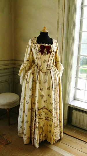 Period Clothes 18th Century Theatre Costume Theatre at Drottningholm Palace Stockholm Sweden