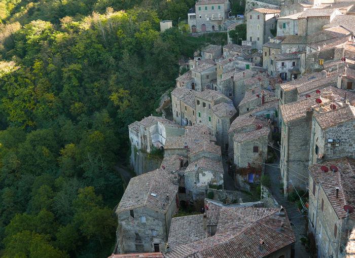 Ancient Civilization Architecture Building Exterior Built Structure No People Old Houses Sorano Stone Houses