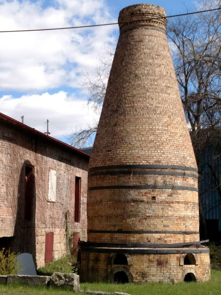 East Liverpool Ohio, USA Pottery Passion Old Kiln Kiln My Town My World... My Town History Through The Lens  Historical Monuments