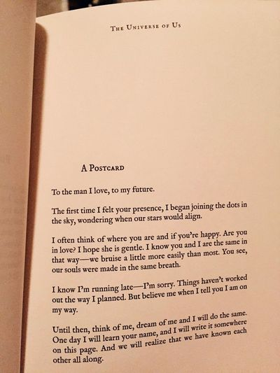 the universe of us lang leav