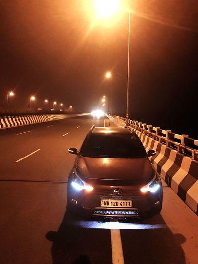 Nightlife Nightphotography Shotoniphone7plus Hyundai I20active Highways Underlights Beautifulview Happyme