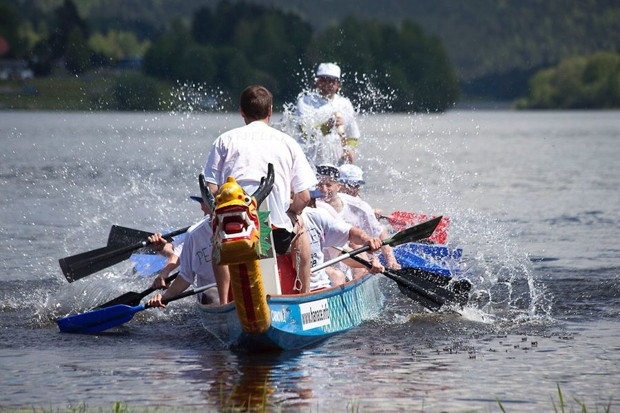 Photography In Motion Motion Water Dragon Boats Fun Sport Lipno Enjoying Life The Essence Of Summer Original Experiences Czech Republic
