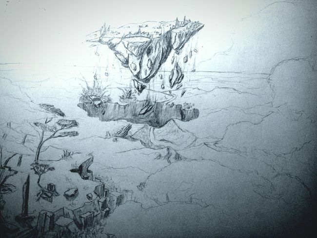 Ongoing Drawing Light And Shadow Falling From My Point Of View Getting Creative Landscape Escaping Nature Zaap'sdraws
