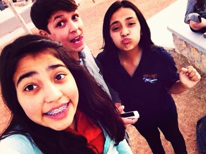 Me ,My Beffo ,And Brianna
