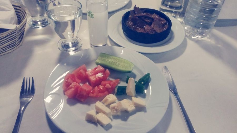 Turkish Raki Rakicandir Cheese! Tomato Pepper Ciger Turkey Izmir