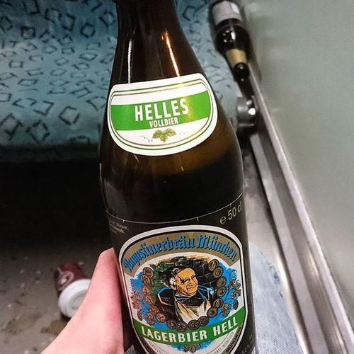 Gemütlicher Feierabend ^^ Augustiner , BRAU , HELLES , Blondes , Dreck , Bahn , Berlin , Bier , München , Ale ,