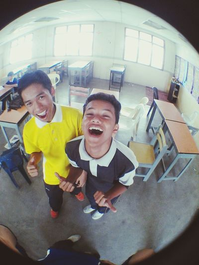with my crazy friend, raihan