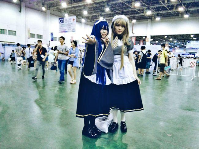 Hi! Taking Photos Cosplay Weekend Activities Anime Animegirl Animelover The Week Of Eyeem People Eyeemphoto