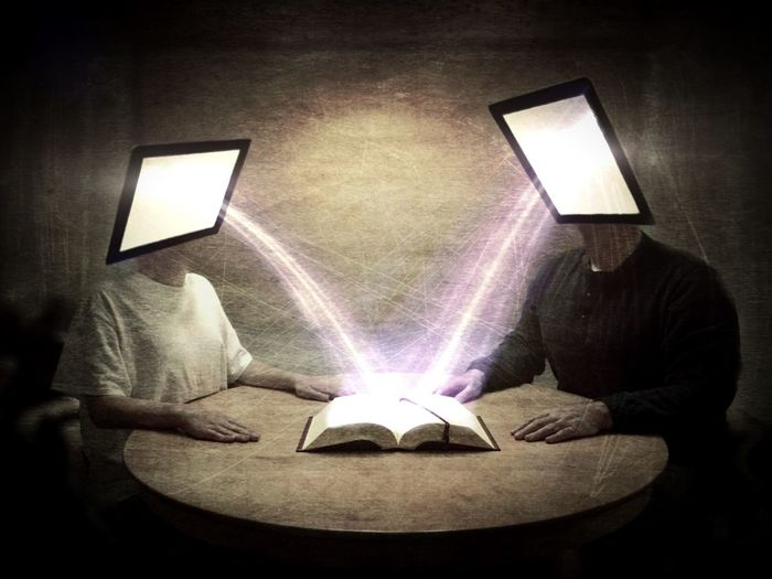 Literacy Evolved... AMPt_community Surrealism Shootermag Conceptual