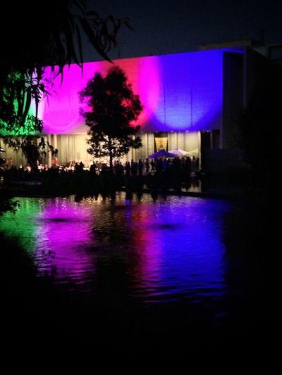 NGA Colour Of Life Festival Season Light And Shadow Color Of Life Relections Light And Shadows Light Up Your Life Canberra Canberralife Canberraatnight