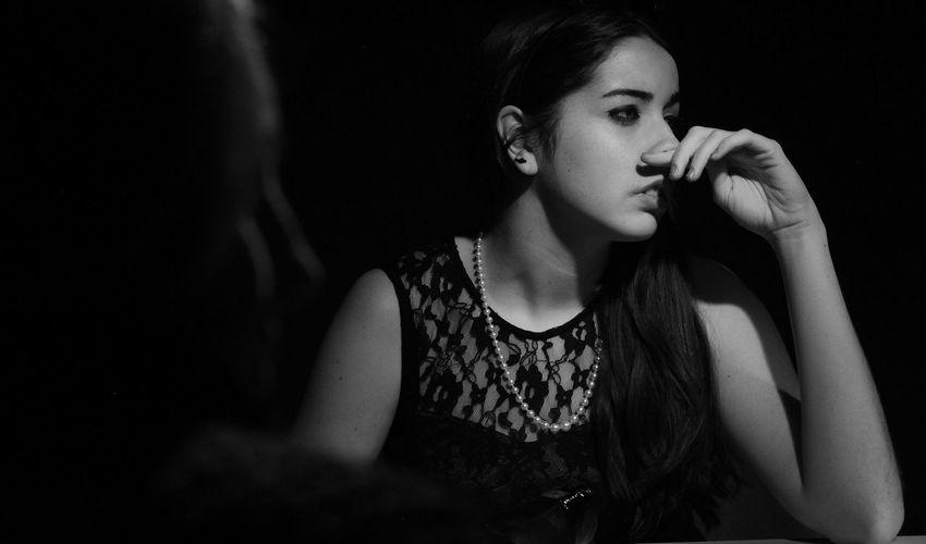 Bw_collection Short Film Black And White Portrait Elegant