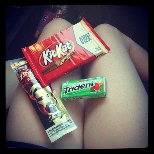 We're readdddyyyyy ;) Blunts Candy Kitkatbar Gum