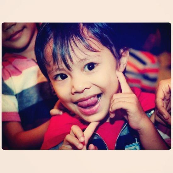 I'm cute.....Kamerahpgw Kamerahpgw_Kupang Cute Kiddy lovelyxtraordinarynoya