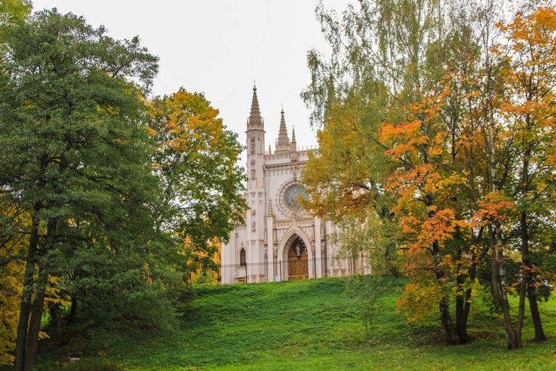 Saint-Petersburg Architecture Religion Church Park Alexandria