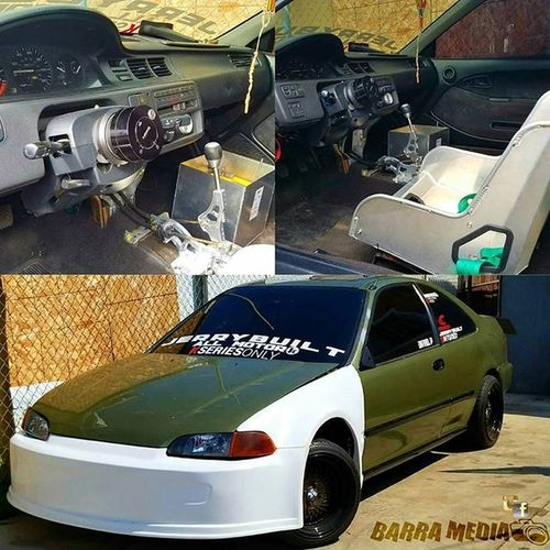 David Pérez EG Resting waiting for its new engine and paint @linkserkillsss_jerrybuilt PoorPay JerryBuilt DBTuned BarraMedia