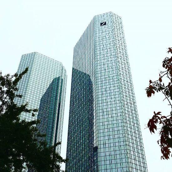 Photos Deutsche Bank Tower Frankfurt Am Main Germany