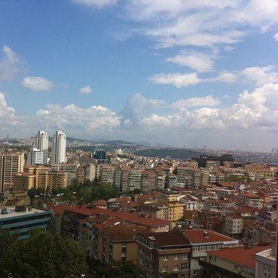Istanbul Sisli Etfal Hastane camindan manzara sky skyporn gokyuzu nature bulut