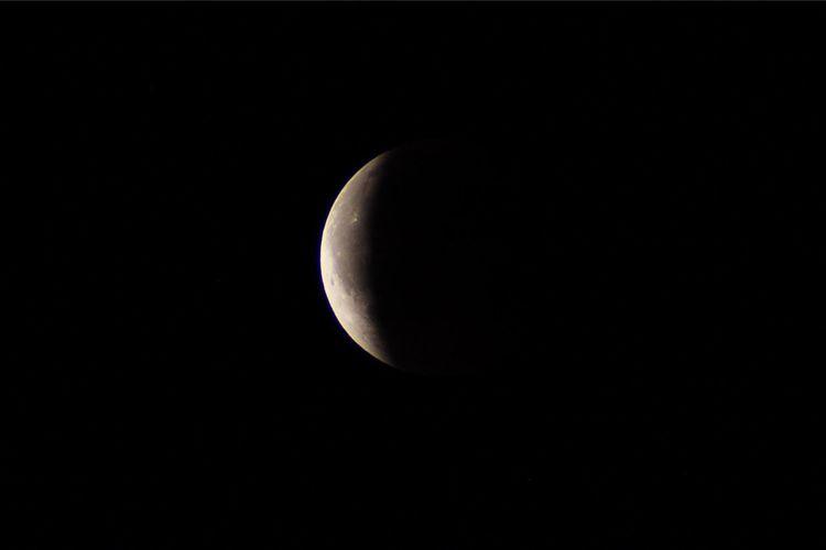 Moon Sky Night Astronomy