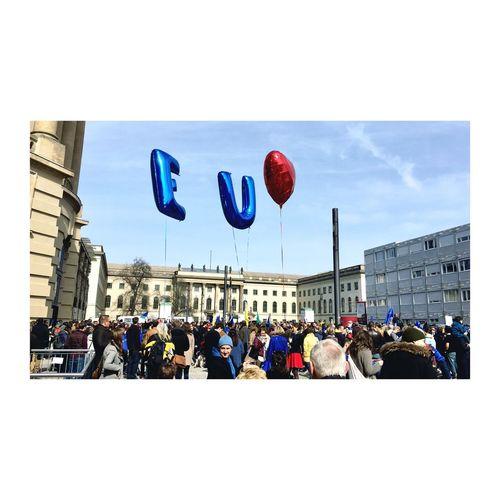 Large Group Of People Europe Eu60 Europe United Equal Safe Proud