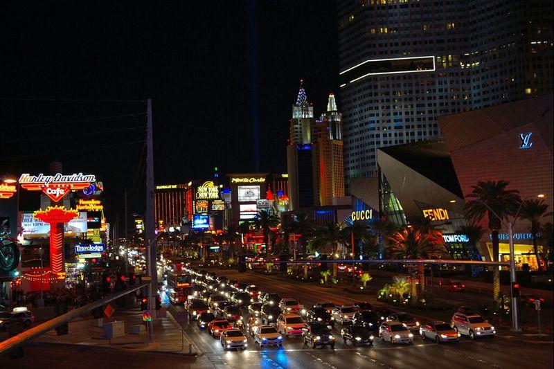 On Your Marks....... Get Set........ GO!!! Lights Streets Nightlife SinCity Cars Vegas Strip Vegasstrip Night