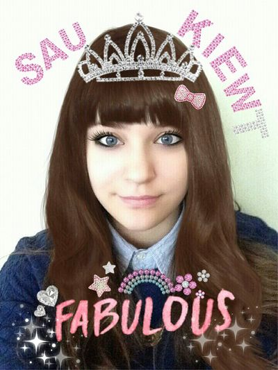 DATZ SA KIEWT OMG (inspired by Pewdiepie :3) Modiface Cute I'm Fabulous Youtube