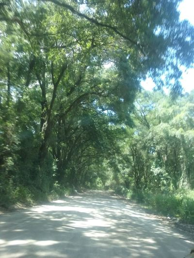 Peaceful Tranquillity Thinkin Place Serene Country Road