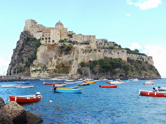 Castello Aragonese Campania Castle Ischia Island Italia Italy Landscape Napoli Sea The Great Outdoors - 2016 EyeEm Awards