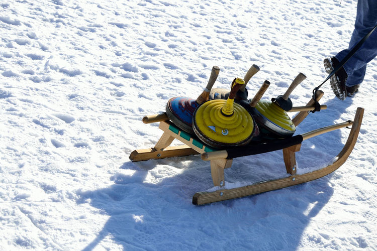 ice Cold Temperature Day Fun Leisure Activity Nature Outdoors Snow Winter Ice Shooting Colors Shadow Sport Sport Time Sled