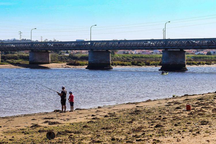 Fishing. River